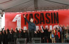 Workers marked May Day rallies in Turkey