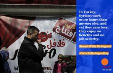 Syrian workers in Turkey