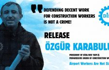 Leader of construction workers detained