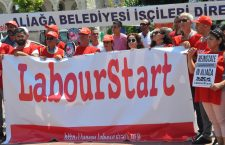 International Solidarity with Dismissed Municipal Workers in Aliaga